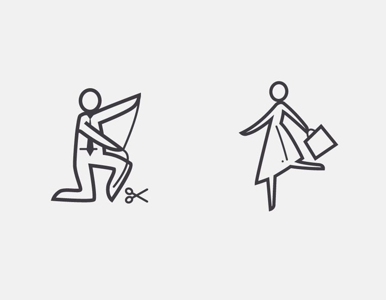 An extensive suite of icons and pictograms for Nordstrom designed by Zeus Jones | typetoken