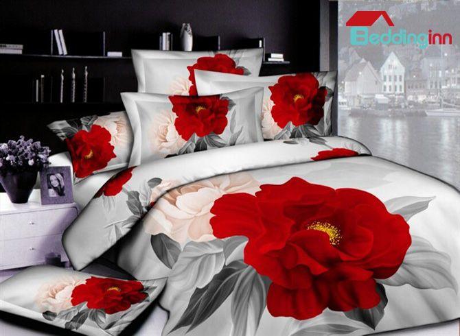 Fancy 3d Floral Bedding Set For Your Sweet House Buy Link Http Urlend Com Mryjebe Discover More Http Elegant Bedding Sets Bedding Sets Christmas Bedding