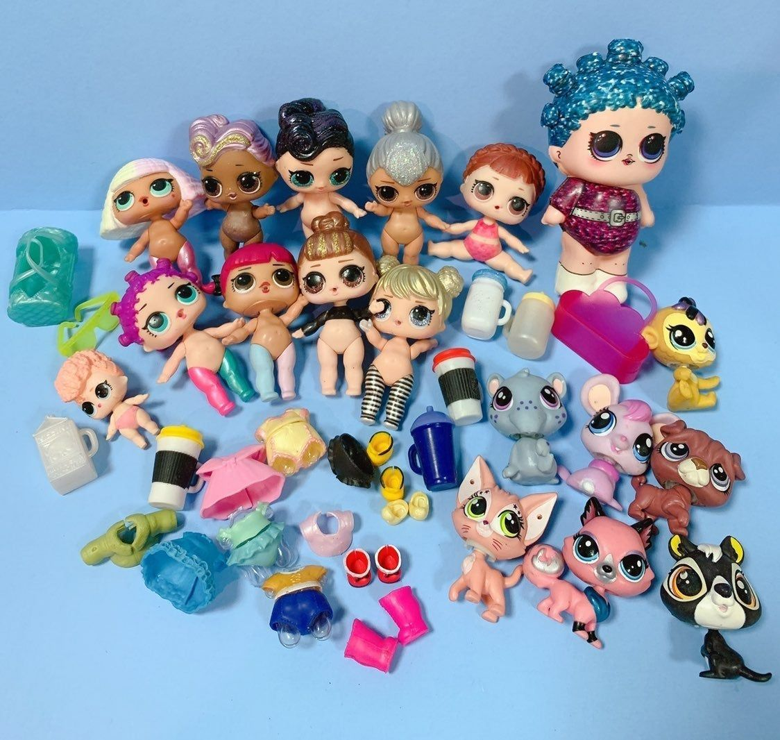 L.o.l LOL Surprise DOLL BAMBOLA Lil Sisters Series 4 Lil Goodie
