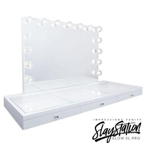 slaystation plus premium vanity tabletop in 2019 vanity