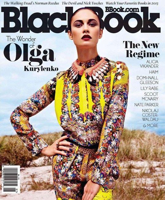 Olga Kurylenko by Louis Christopher for BlackBook January 2013