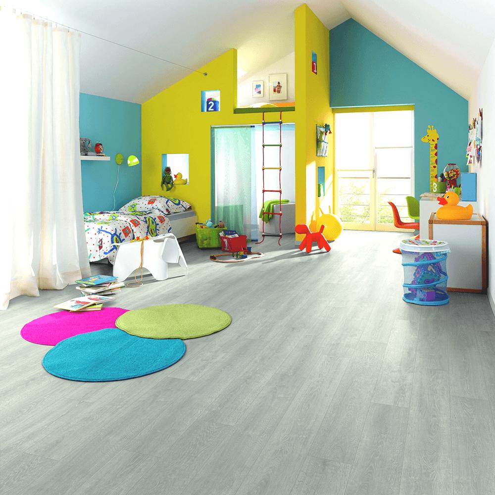 Horizon - 8mm Laminate Flooring - Jersey Grey Oak in 2020 ...