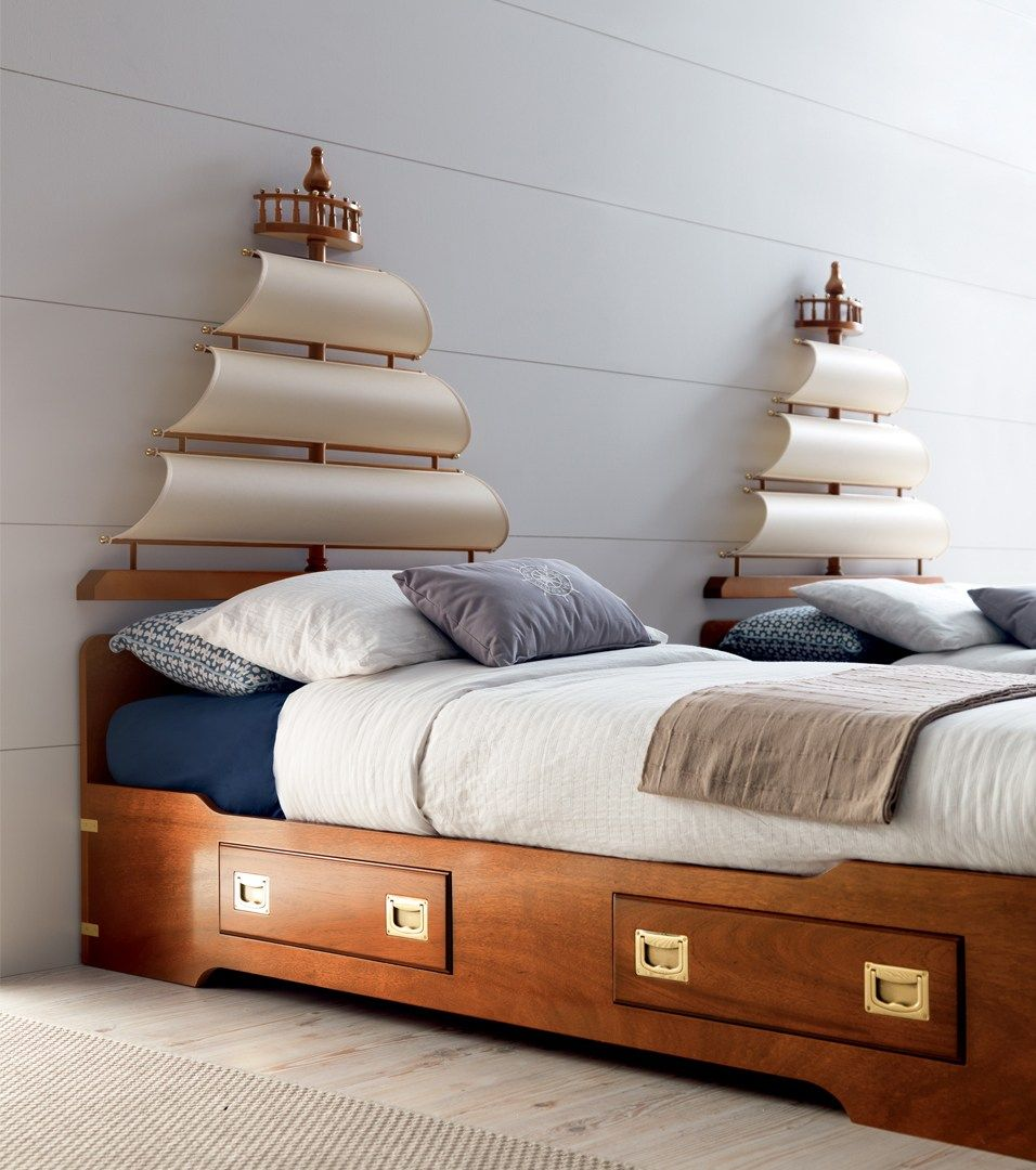Fitted Wooden Bedroom Set With Bridge Wardrobe For Girls Play Sail  # Muebles Dash Juveniles