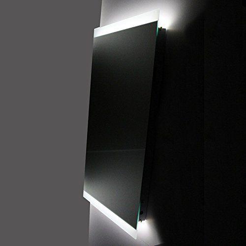 Rue du bain emimre110 lignum miroir salle de bain antibu e led 50 x 110 cm - Miroir salle de bain led 120 cm ...