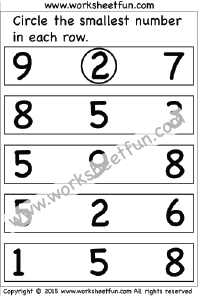 kindergarten math worksheets | kindergarten math worksheets ...