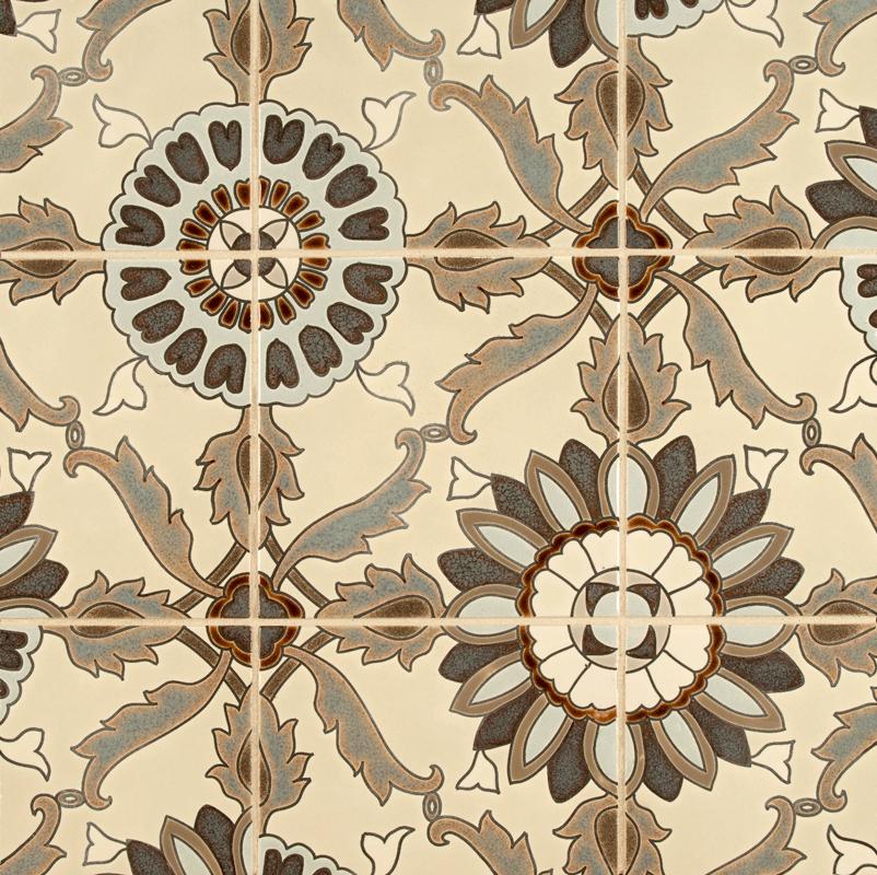 ANN SACKS Kibak angelic ceramic decorative tile in gb hq2 st