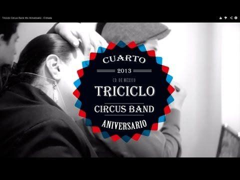 Triciclo Circus Band 4to Aniversario Gongfu P  http://www.gongfup.com/inicio/