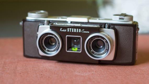 Kodak Stereo Vintage Film Stereo Camera Stereo Camera Aperture Shutter Speed Photo Lens