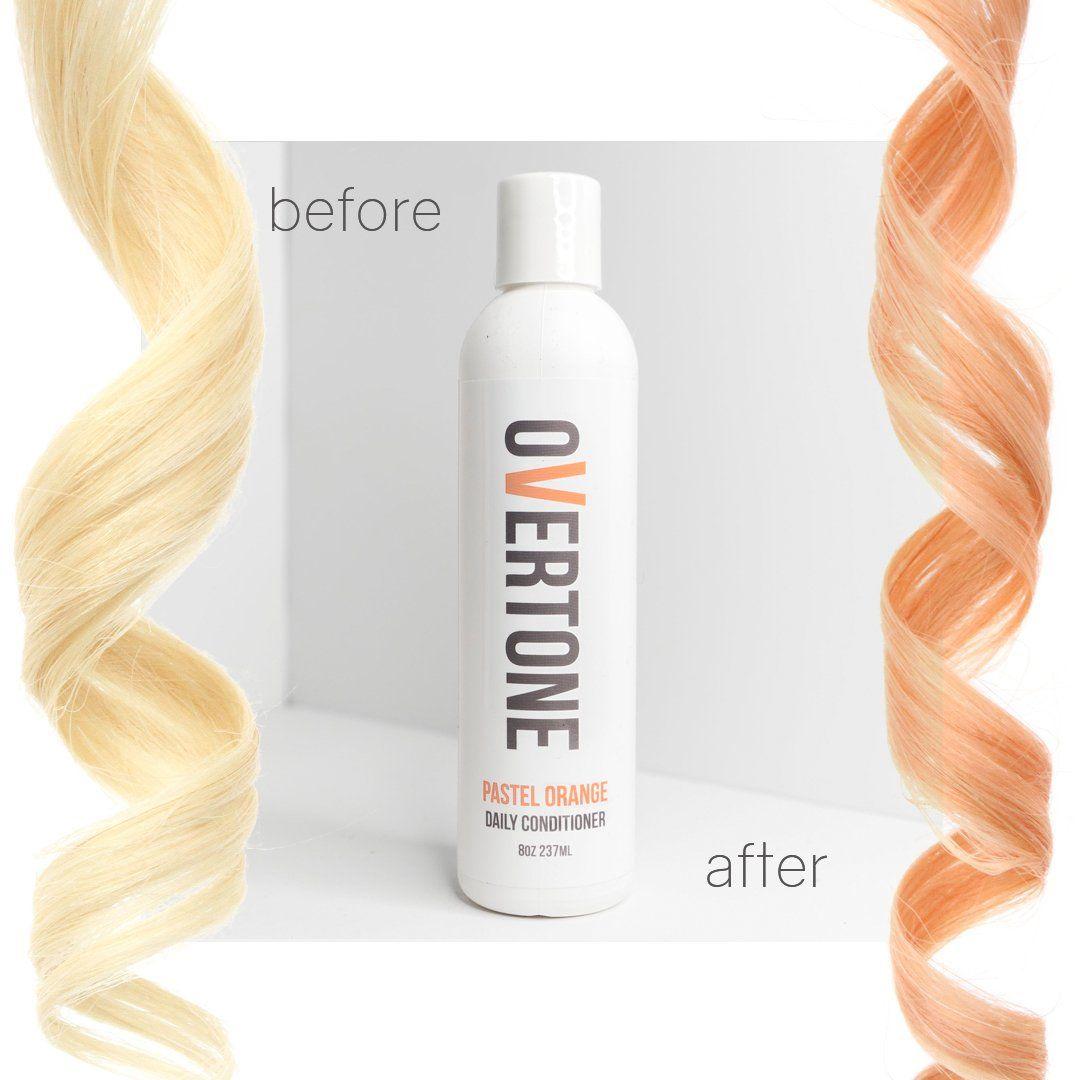 Pastel Orange Daily Conditioner Pastel Orange Hair Hair Color