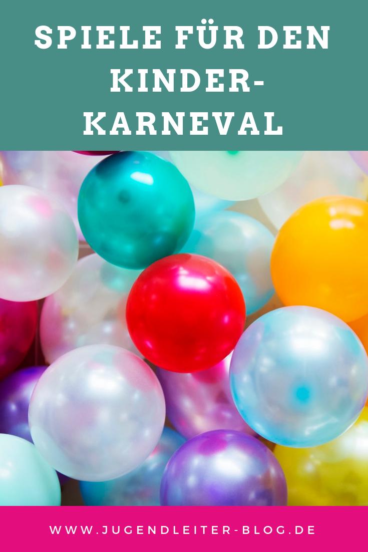 Spiele für den Kinder-Karneval