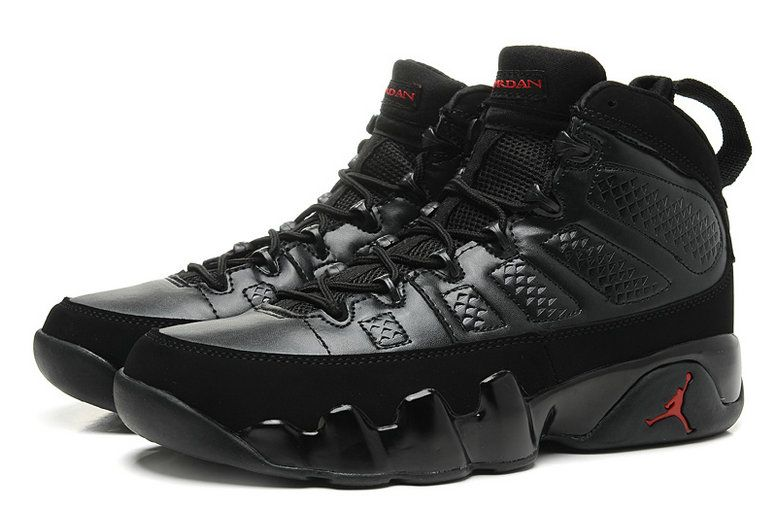the best attitude e8fec cd632 Free Shipping Only 69  Air Jordan IX 9 Blackout Anthracite University Red