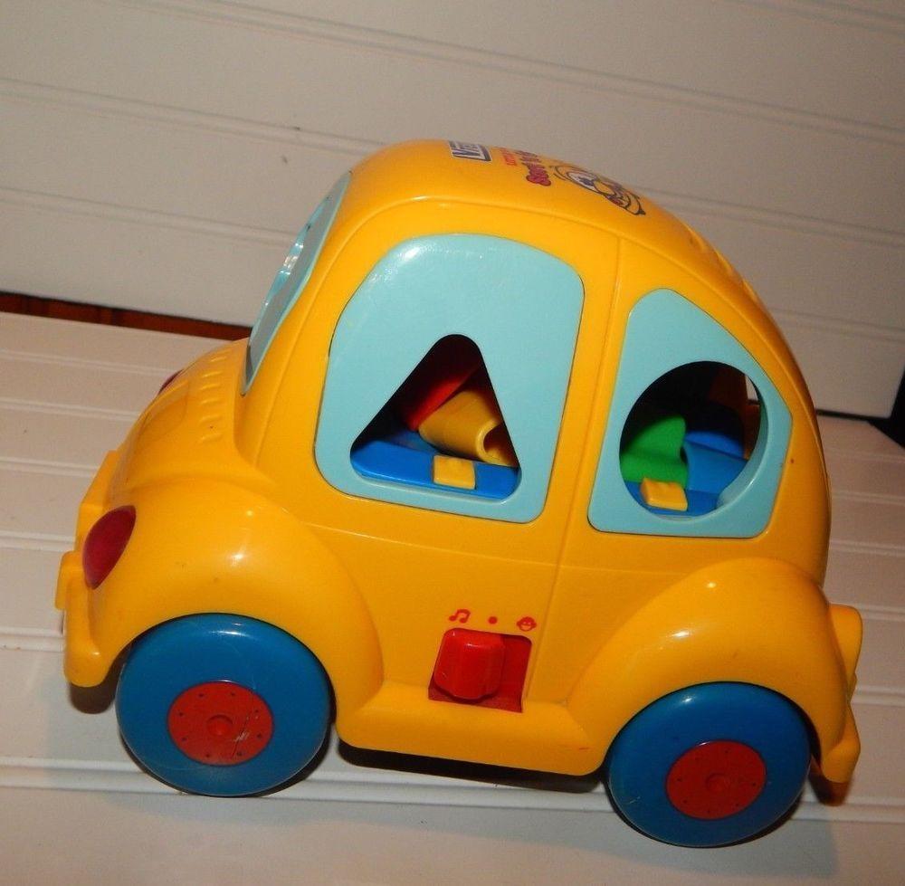 vtech little smart sort 'n go car shapes music toddler toy