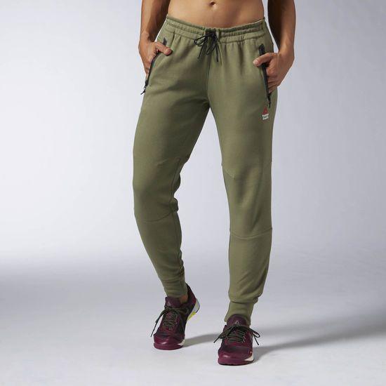 30124a5522c24 Pantalón de punto Reebok CrossFit - Verde