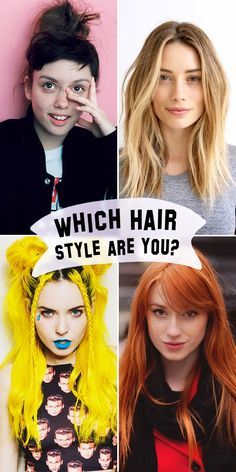 Which Hair Style Are You Hair Quiz Hair Styles Hairstylist Humor
