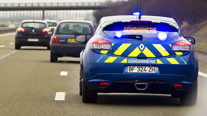 Yes, Itu0027s France Police Car, 2011 Renault Megane Coupe RS