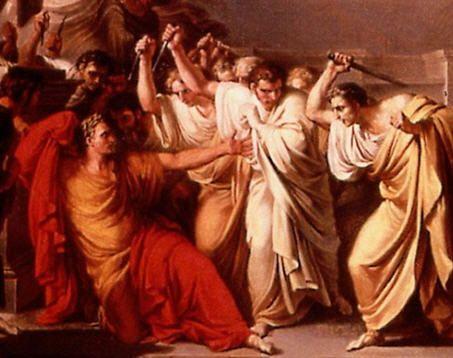 julius cæsar død