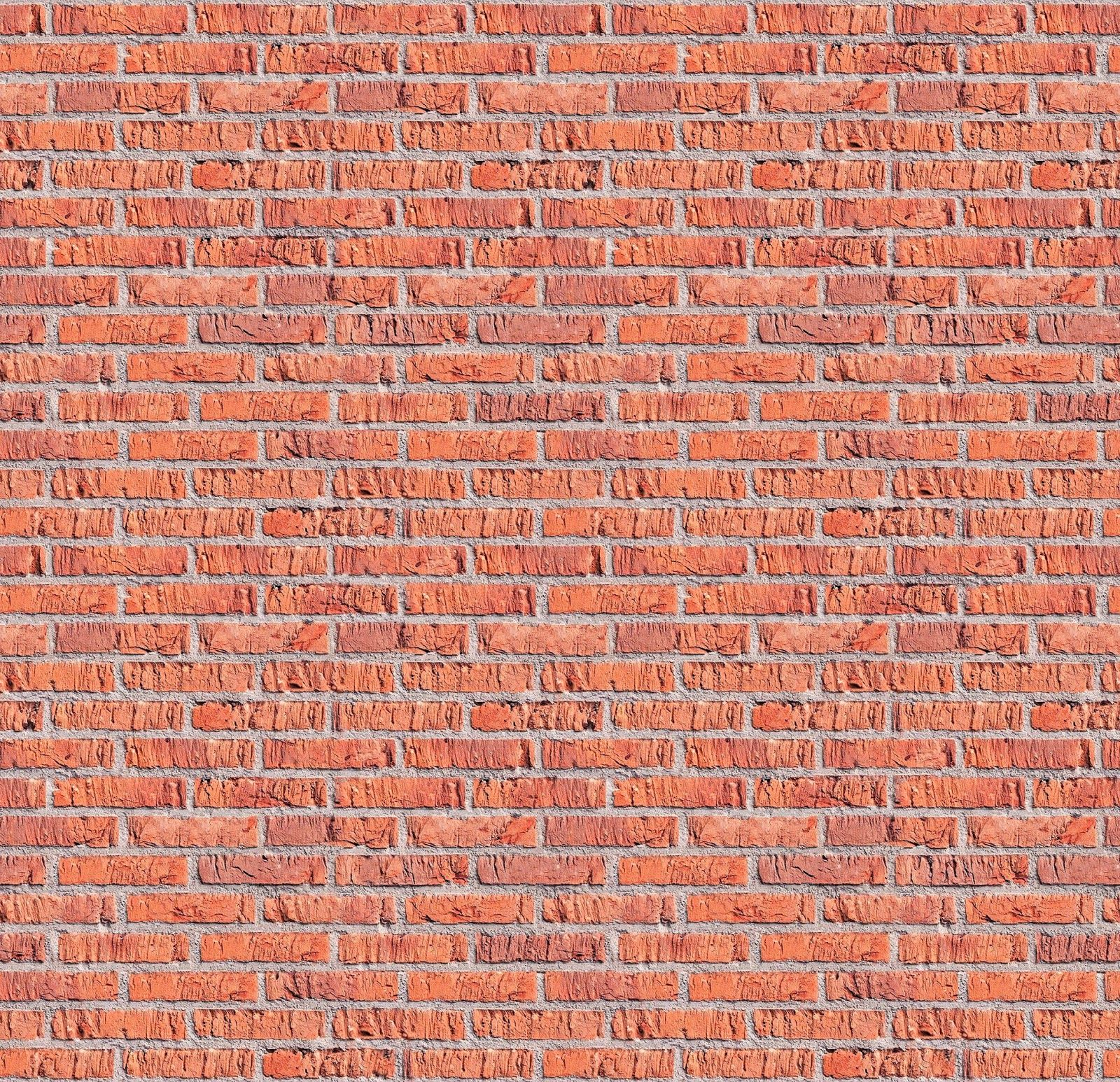 Tileable Red Brick Texture Maps