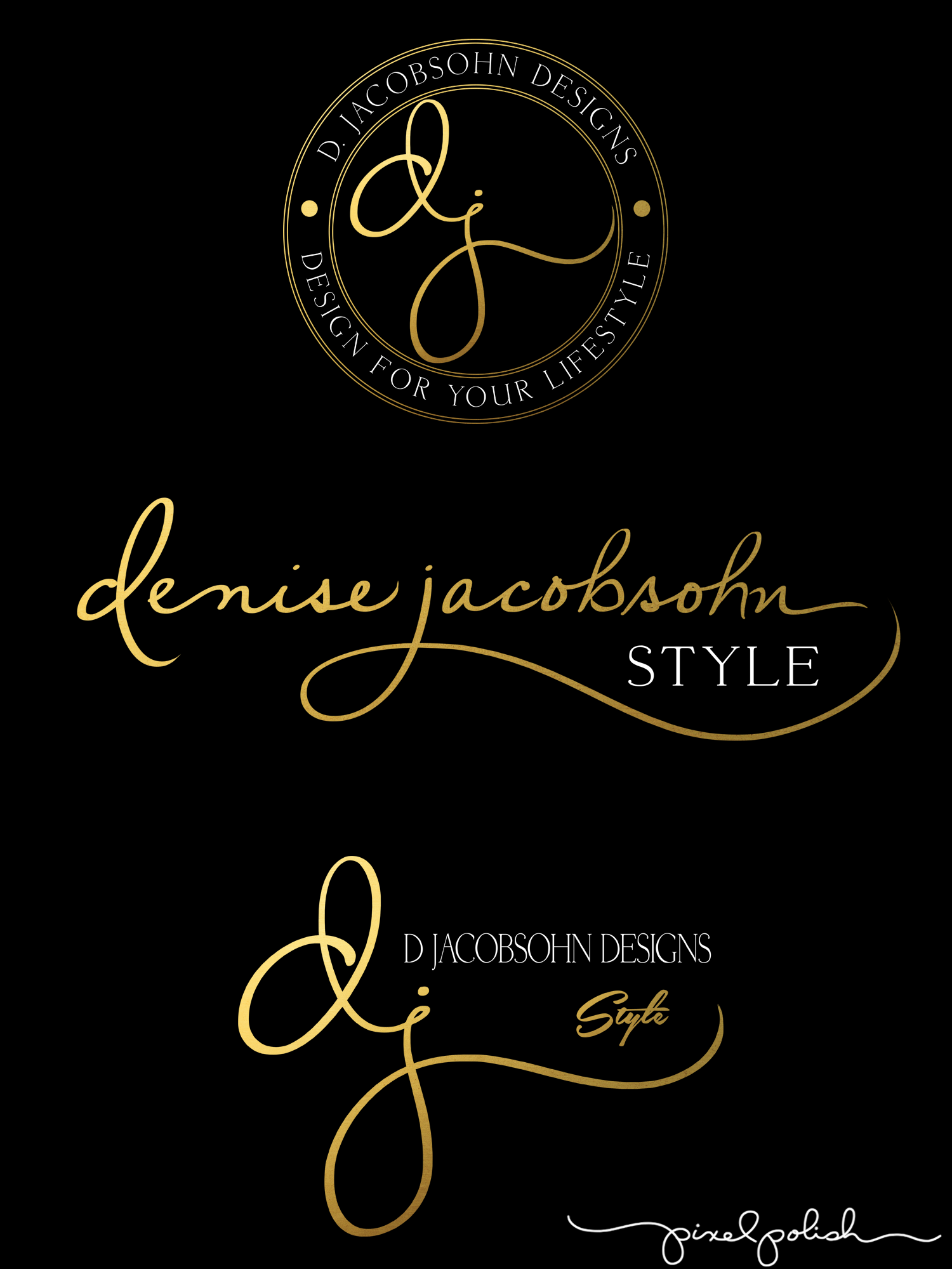 Handwritten logo. Logos by Pixel Polish, Handwritten