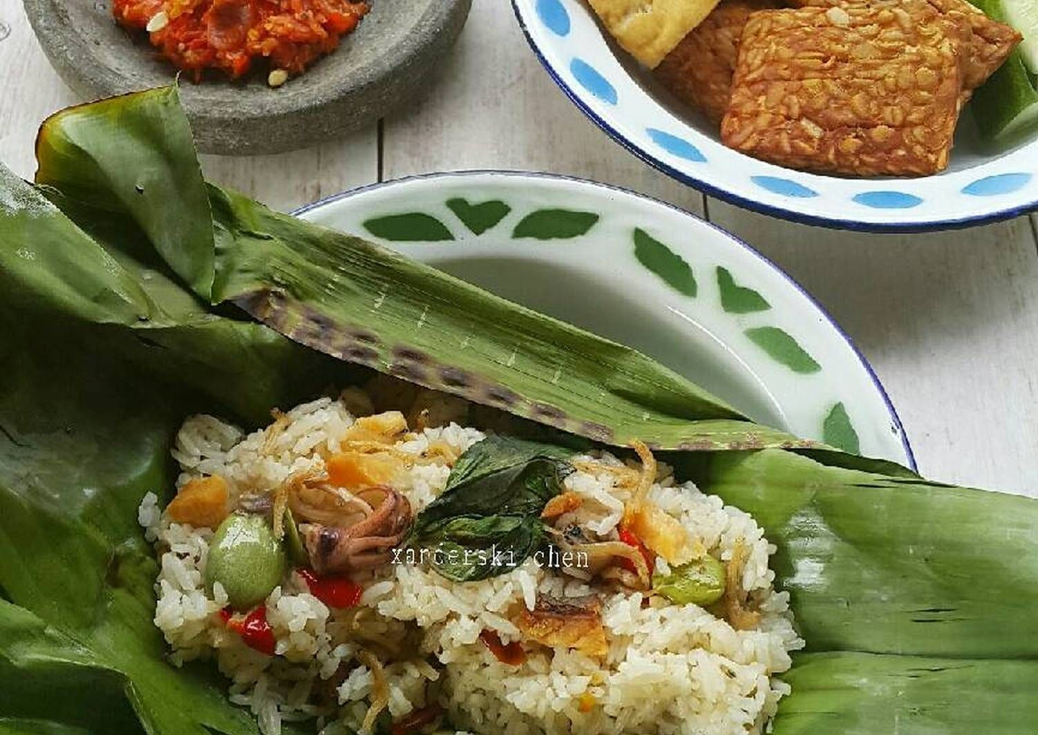 Resep Nasi Liwet Bakar Oleh Xander S Kitchen Resep Resep Masakan Indonesia Makanan Sehat Resep