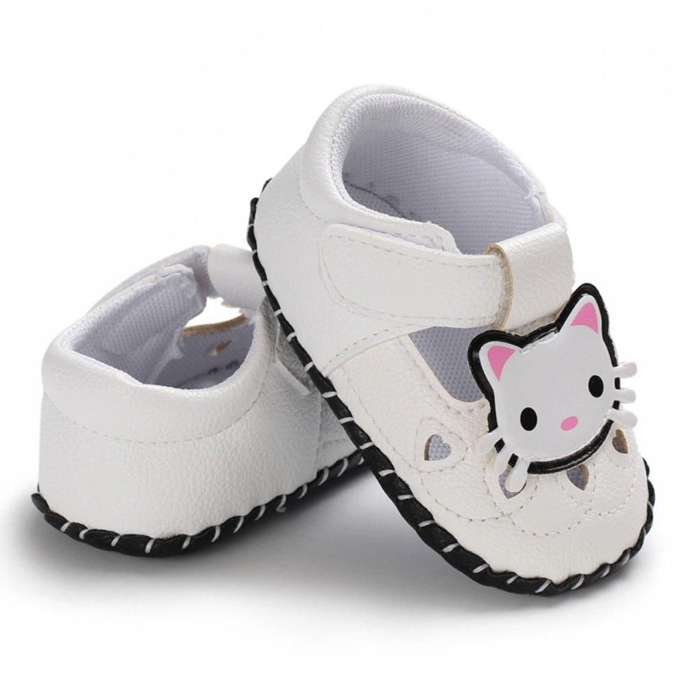Newborn Crib Shoes 2019 Summer Cute New Infant Baby Boy Girl Anti Slip Sole