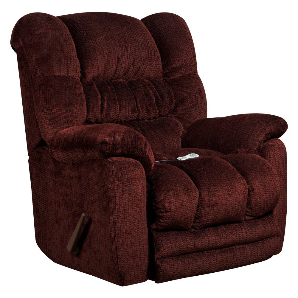 Flash furniture massaging temptation rocker recliner with