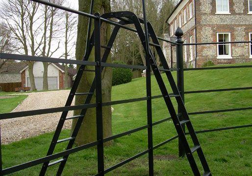 Stiles- Ladder | Iron railing, Cast iron railings