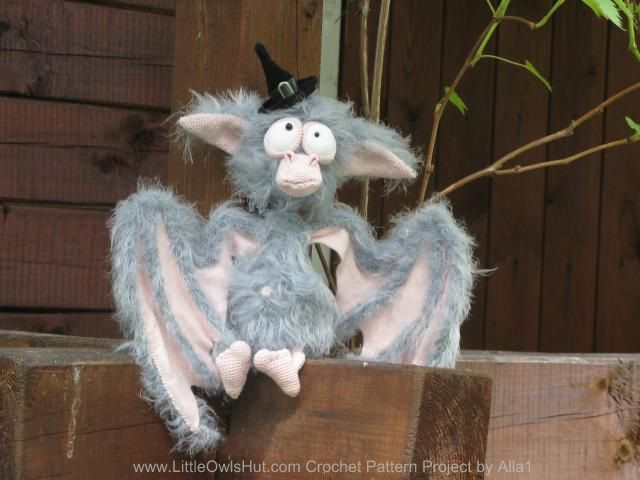 Bat project by alla1. Project Gallery for patterns from Little Owl's Hut's…