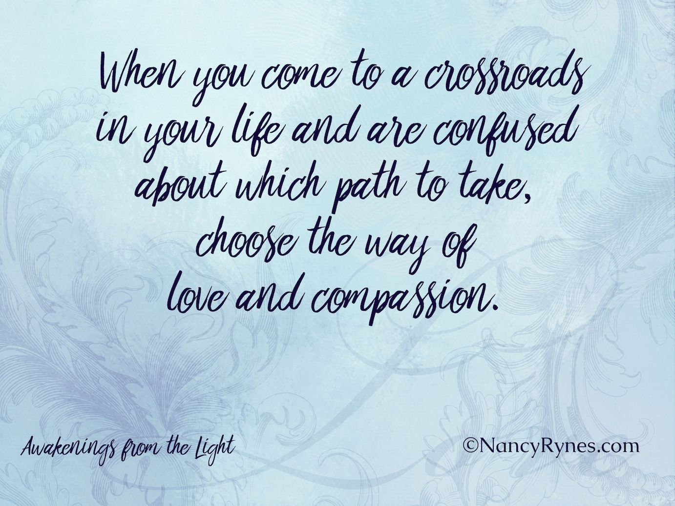 Confused About Life Quotes When You Come To A Crossroads In Your Life And Are Confused About