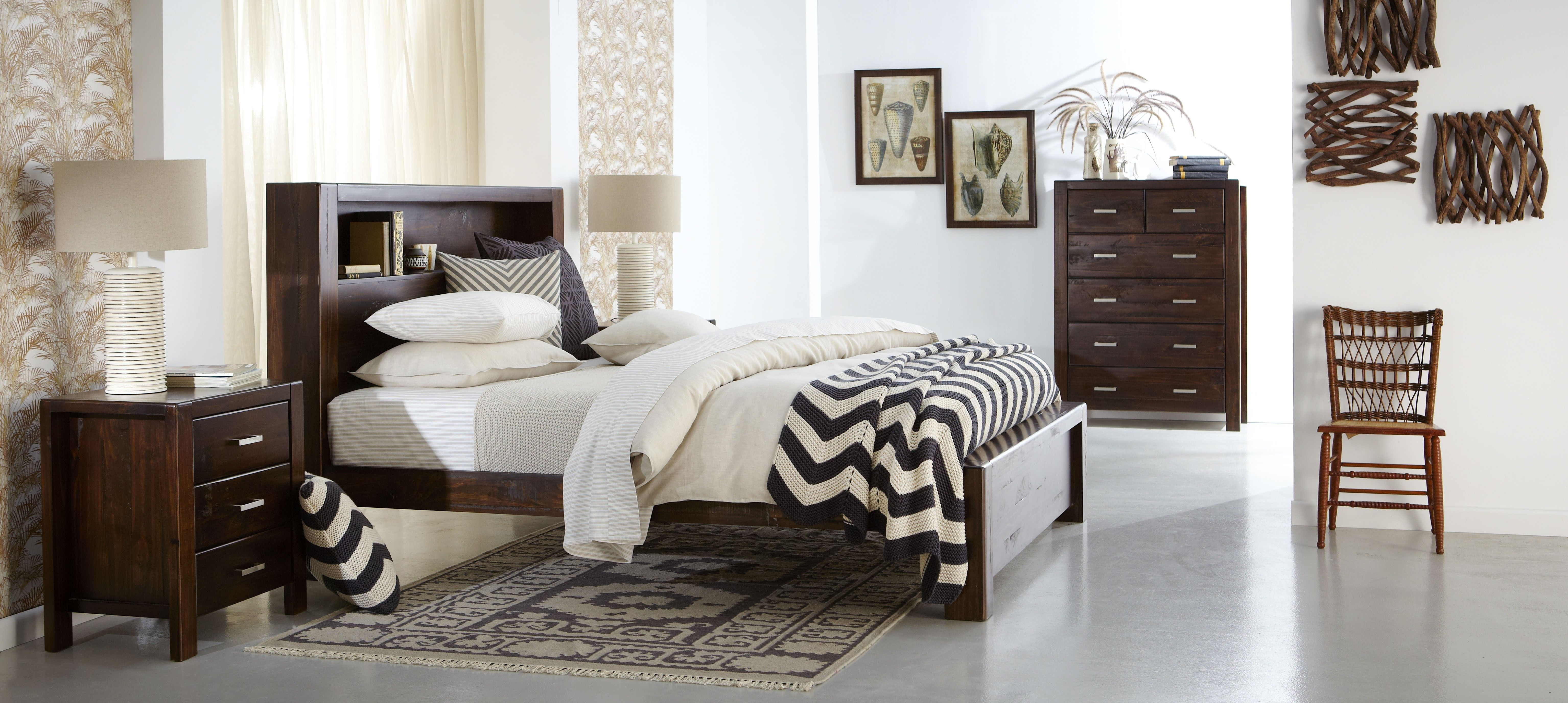 Longreach Bedroom Furniture - Crafted from New Zealand pine, this ...