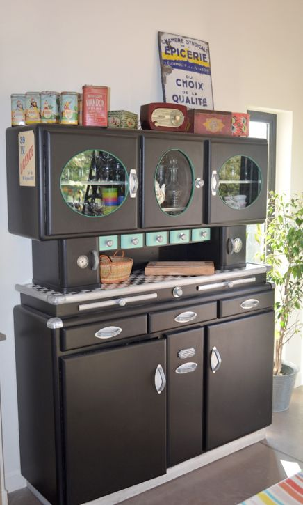 buffet ann es 50 en cuisine pinterest bricolage et buffet de f te. Black Bedroom Furniture Sets. Home Design Ideas