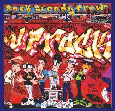 This brings back memories, I remember drawing these... Rock Steady Crew