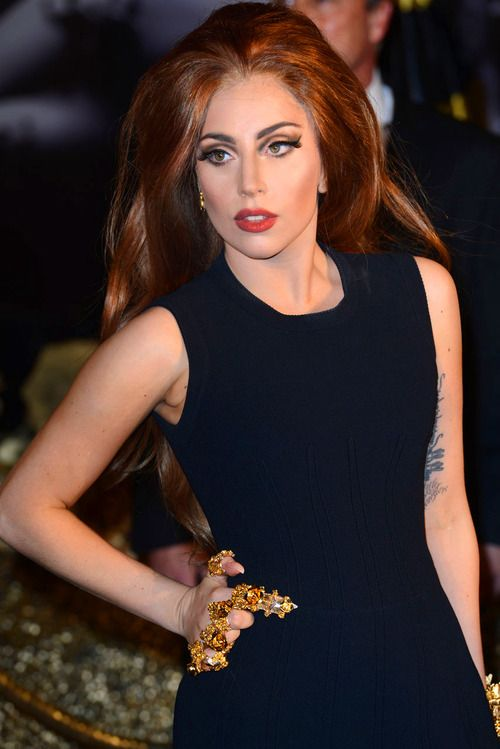 Love the brunette colour! | Lady gaga versace, Lady gaga pictures, Lady  gaga artpop