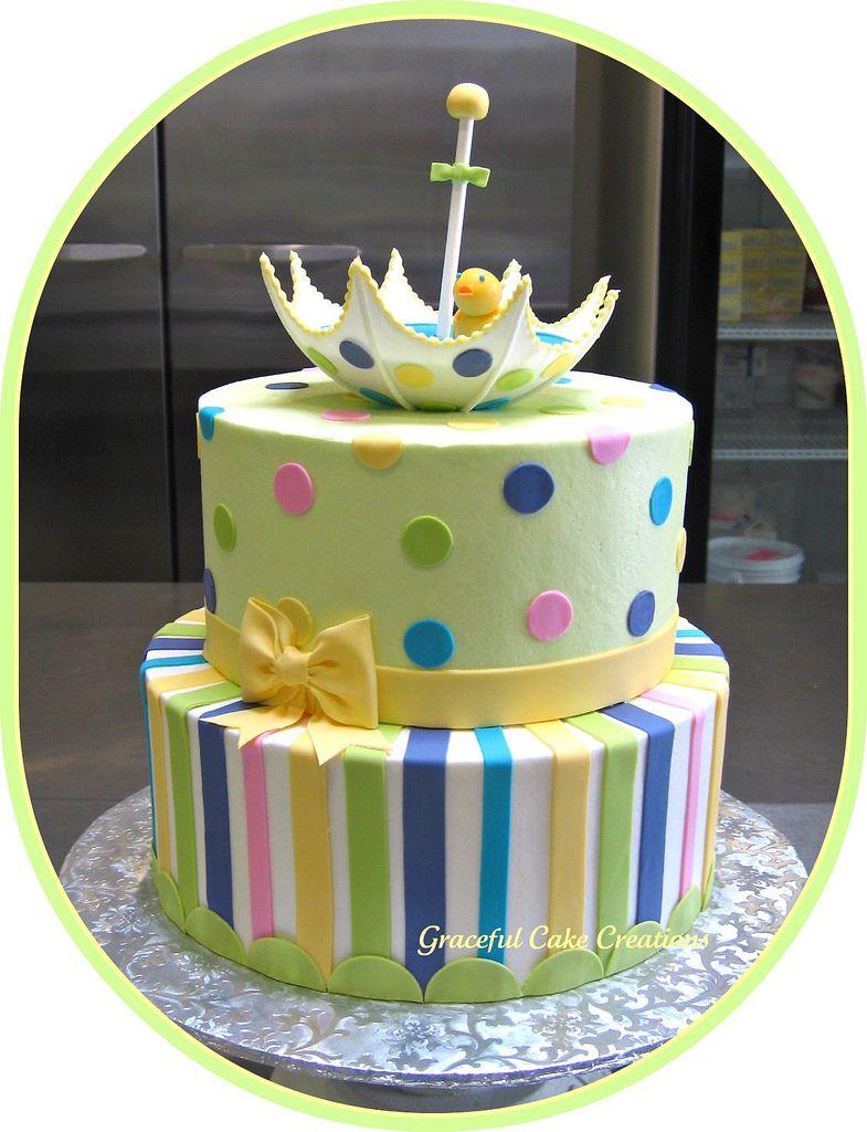 Gender Neutral Baby Shower Cake Baby shower cakes, Cake