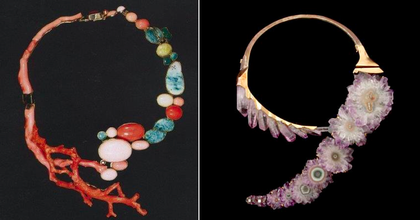 Jean Vendome one of the most revered avant garde jewelry designers