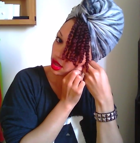 How To Tie A Turban Tutorial Headwrap HAIR Coiffure