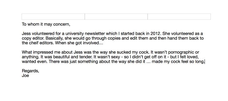 My ex asked for a cover letter My first draft   Funny Pinterest - copy letter format to whomsoever it may concern