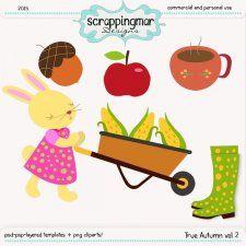 True Autumn Vol 2 Template - Clipart by ScrapingMar cudigitals.com clipart template cu commercial scrap scrapbook digital graphics #cu #digitalscrapbooking #scrapbooking #photoshop #digiscrap