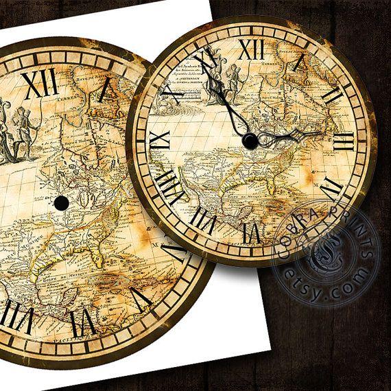 Pin by Maureen Vickery on Giant Wall Clock | Pinterest | Wall decor ...