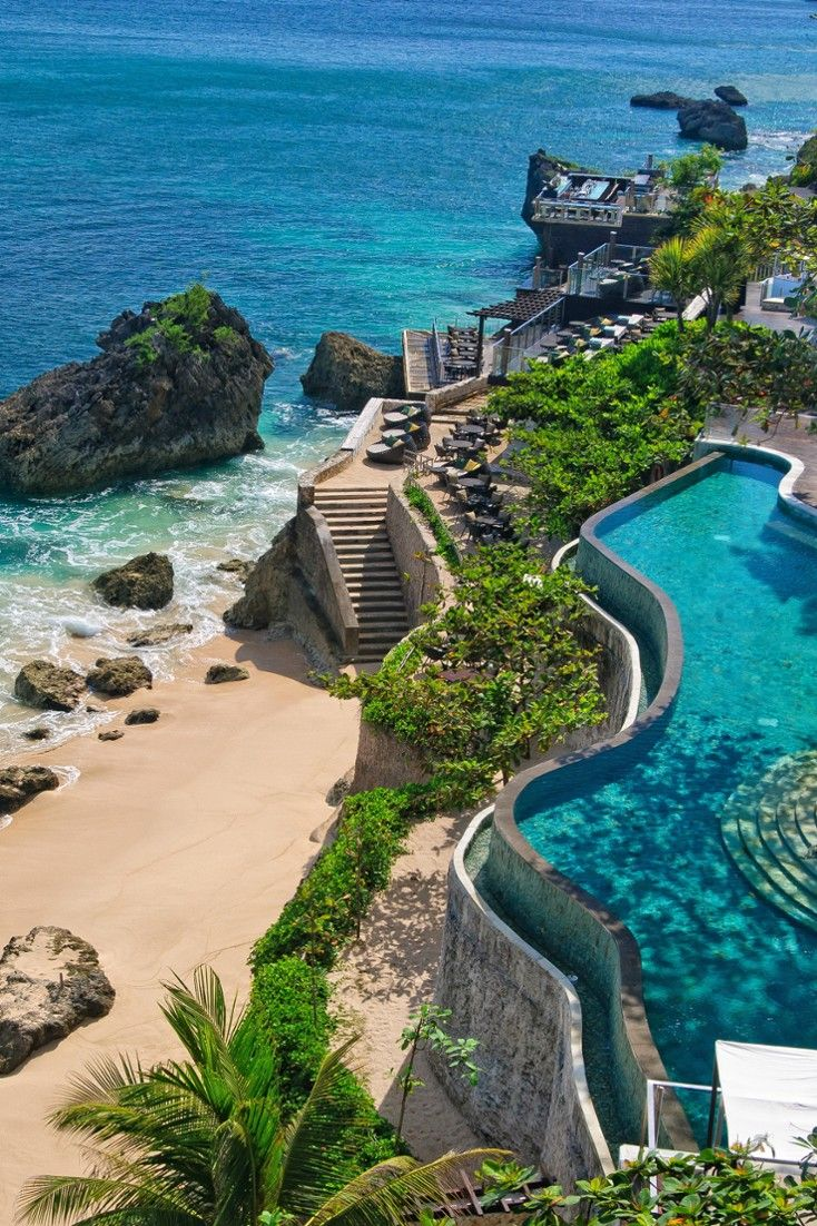 Laid back but still elegant, AYANA Resort and Spa is a tropical refuge along Jimbaran Bay. AYANA Resort and Spa Bali (Bali, Indonesia) - Jetsetter