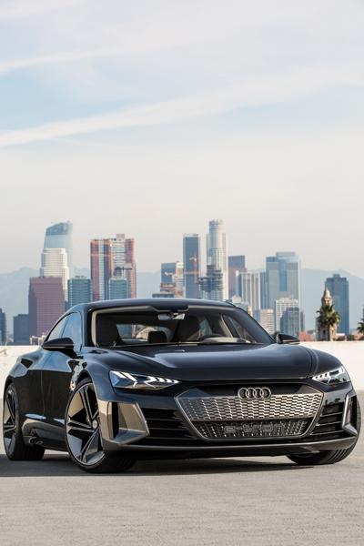 L'Audi etron GT concept, un coupé 100 électrique