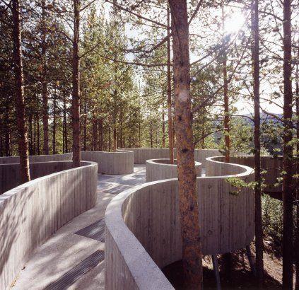 Sohlbergplassen View Point Stor-Elvdal, Norway   A project by: Carl-Viggo Hølmebakk AS ARKITEKTKONTOR
