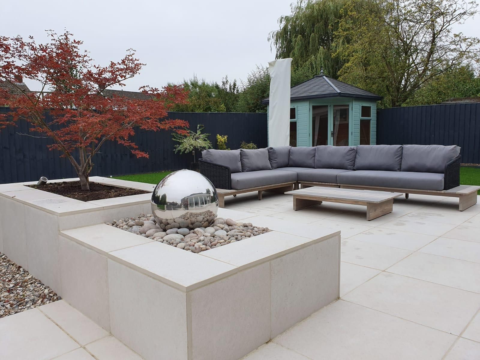 Florence White Porcelain Paving | Outdoor Tiles | London Stone | Patio  garden design, Patio, Tiles london