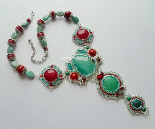 Beautiful jewelry by Ksenia Burzalova | Beads Magic