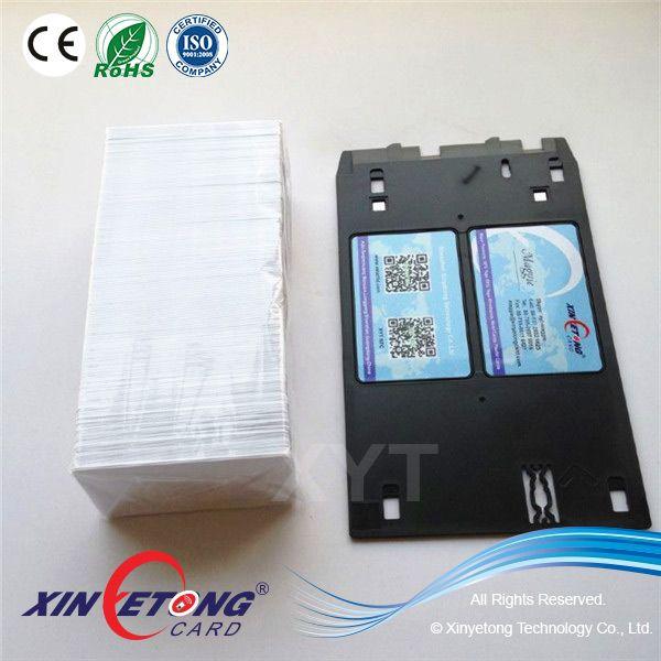 Epson L800 Blank Inkjet Pvc Id Card Plastic Card Cards Inkjet
