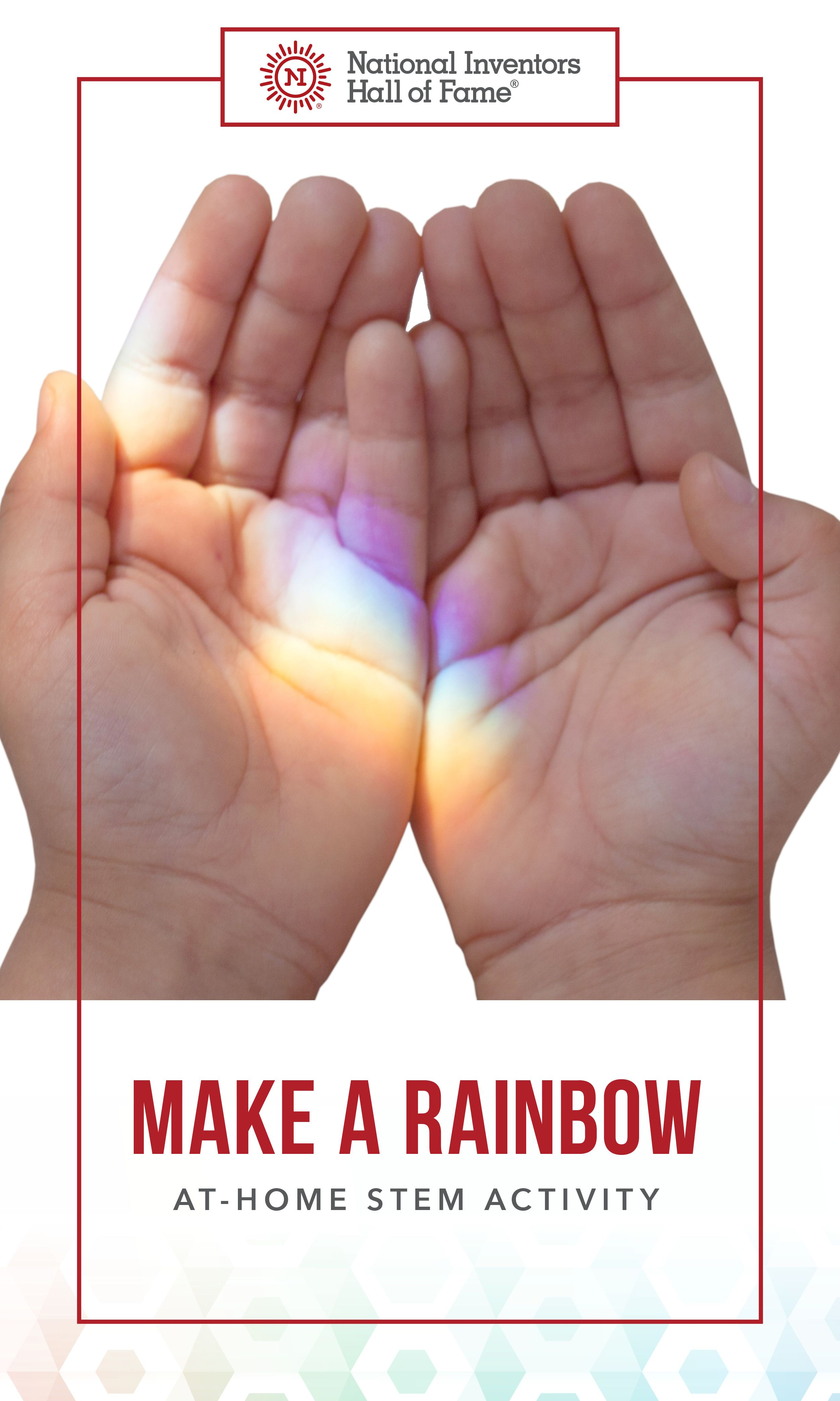 Create An Interactive Rainbow At Home Using Simple