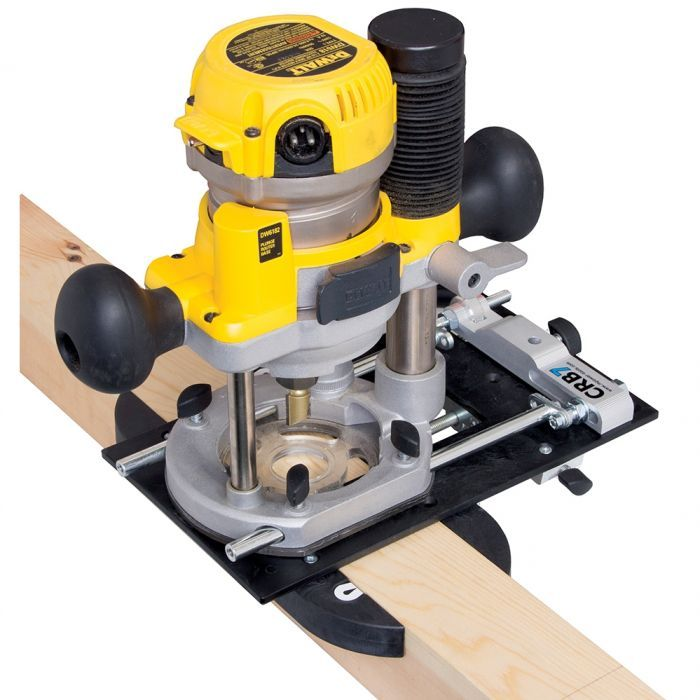 M Power Mhlf Mortising Attachment For Crb7 Router Base In