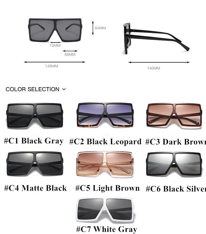 ccfb765d0585 HBK 2018 Sexy Oversized Aviator Sunglasses Women Shades Retro Brand  Designer Sun Glasses For Female Ladies Black Eyewear Oculos-in Sunglasses  from Women s ...