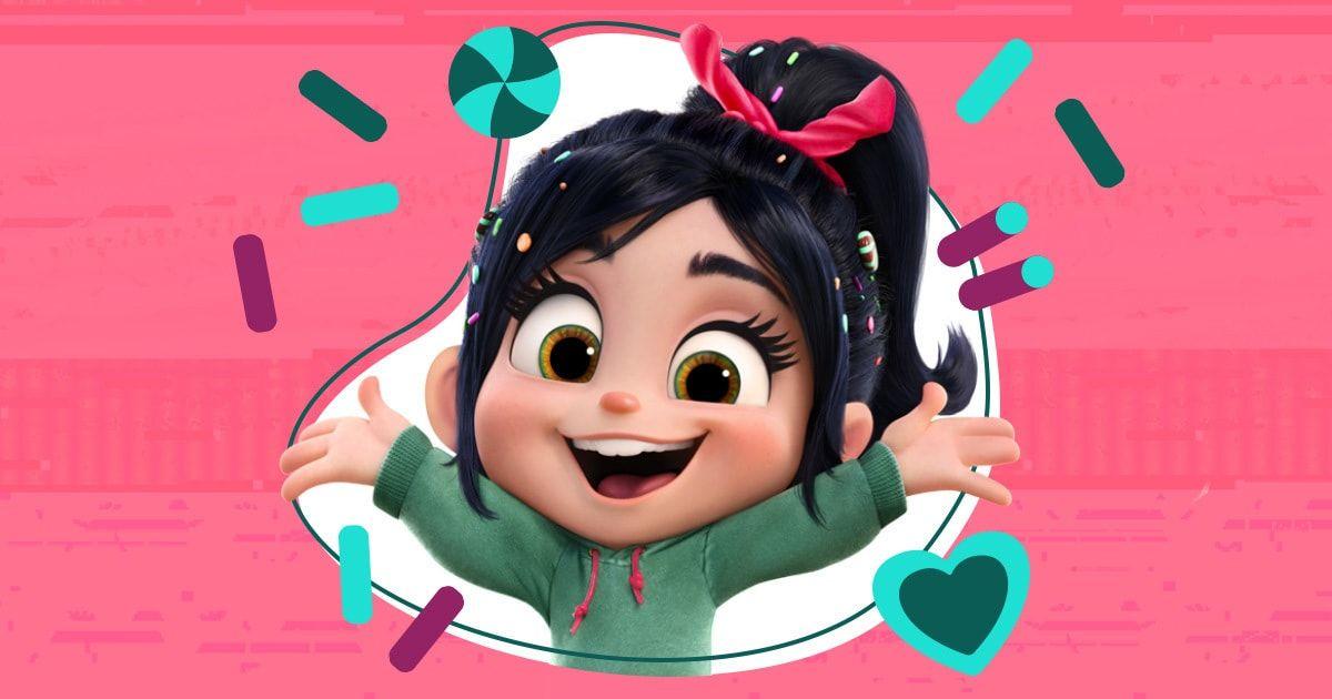 Vanellope Von Schweetz Cute Disney Characters Disney Princess Wallpaper Cute Disney Wallpaper
