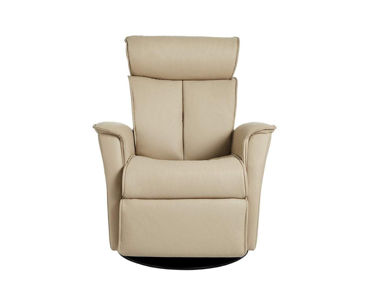 Rullar Large Manual Recliner Recliner Versatile Chairs Leather Chair
