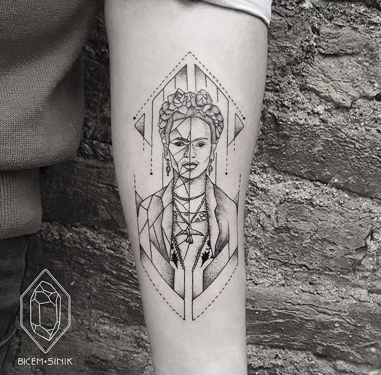 @ bicemsinik Tattoo Frida Kahlo Tattoo